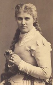 Christine Nilsson (the model for Christine) as Marguerite, circa 1883