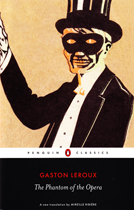 The Phantom of the Opera Cover Black