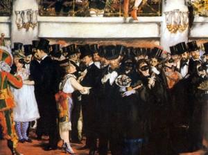 Édouard Manet, Bal masqué à l'Opéra (1873)