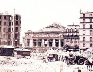 Place de l'Opéra, circa 1873