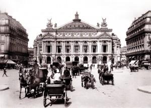 Place de l'Opéra, circa 1900
